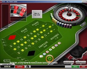 City Tower Roulette - Click to Play